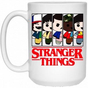 Stranger Things Cartoon Pattern Mug Coffee Mugs 2