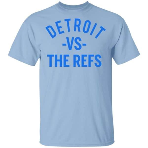 Detroit Vs The Refs Shirt, Hoodie, Tank Apparel 3