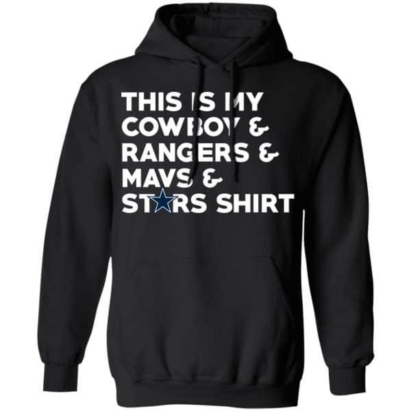 This Is My Cowboys & Rangers & Mavs & Stars Shirt T-Shirts Funny Quotes 19