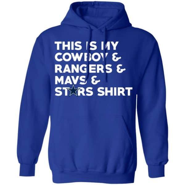 This Is My Cowboys & Rangers & Mavs & Stars Shirt T-Shirts Funny Quotes 25