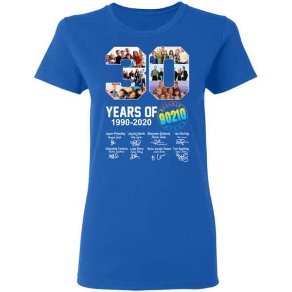 30 Years Of Beverly Hills 90210 1990 2020 Signature Shirt, Hoodie, Tank Apparel 10