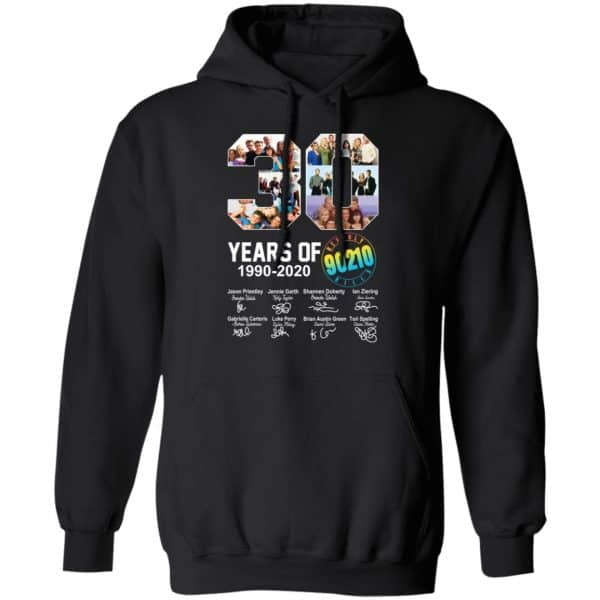 30 Years Of Beverly Hills 90210 1990 2020 Signature Shirt, Hoodie, Tank Apparel 11