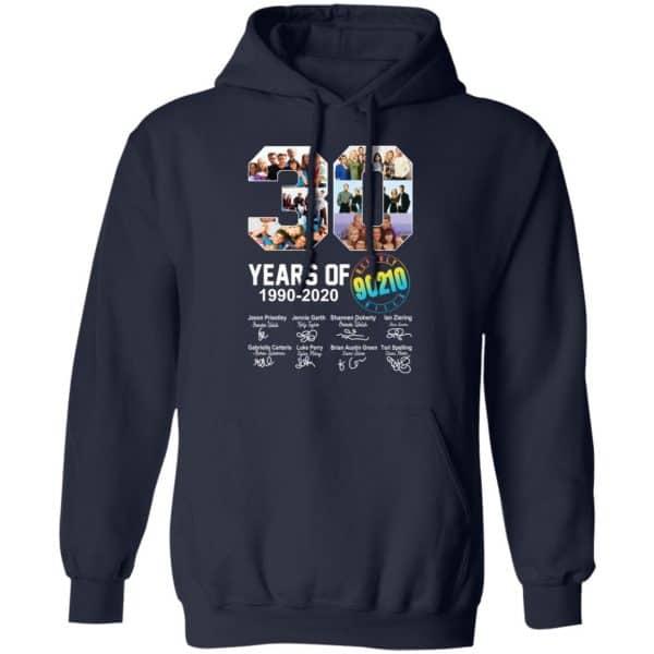 30 Years Of Beverly Hills 90210 1990 2020 Signature Shirt, Hoodie, Tank Apparel 12