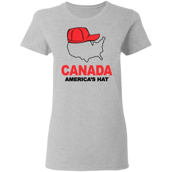 Canada America's Hat Shirt, Hoodie, Tank Apparel 8