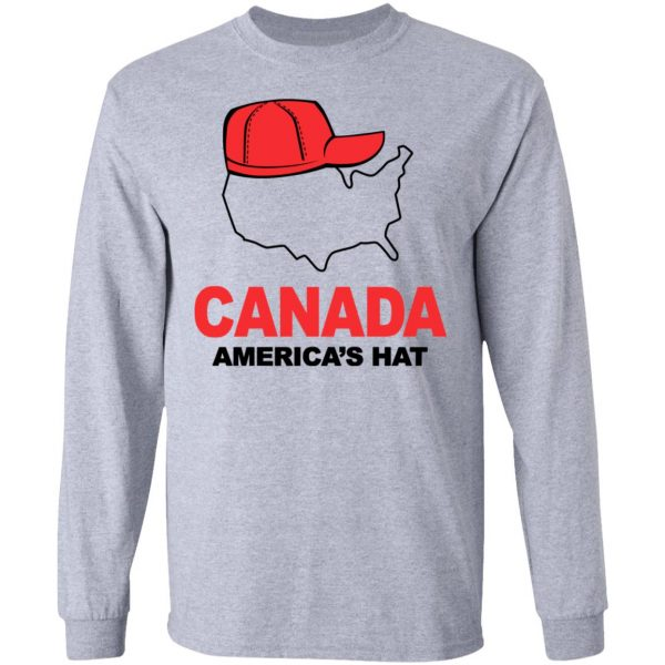 Canada America's Hat Shirt, Hoodie, Tank Apparel 9
