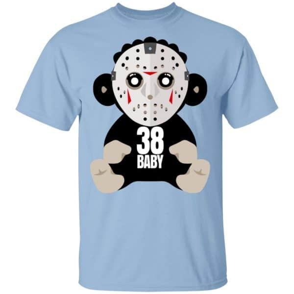 38 Baby Monkey Jason Voorhees Shirt, Hoodie, Tank Funny Quotes 3