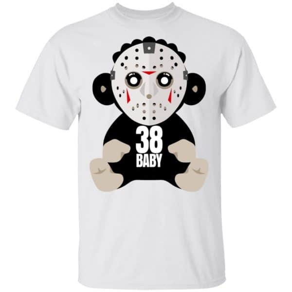 38 Baby Monkey Jason Voorhees Shirt, Hoodie, Tank Funny Quotes 4