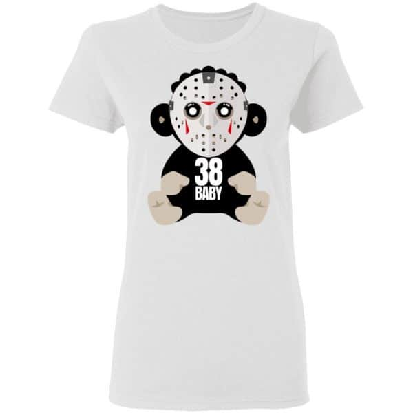 38 Baby Monkey Jason Voorhees Shirt, Hoodie, Tank Funny Quotes 7