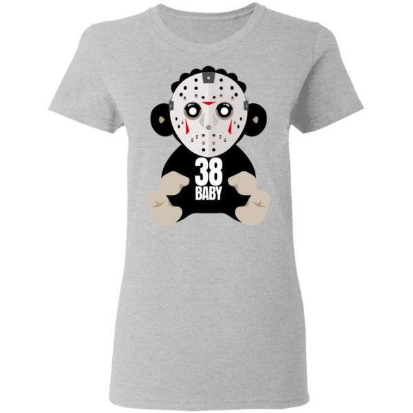 38 Baby Monkey Jason Voorhees Shirt, Hoodie, Tank Funny Quotes 8