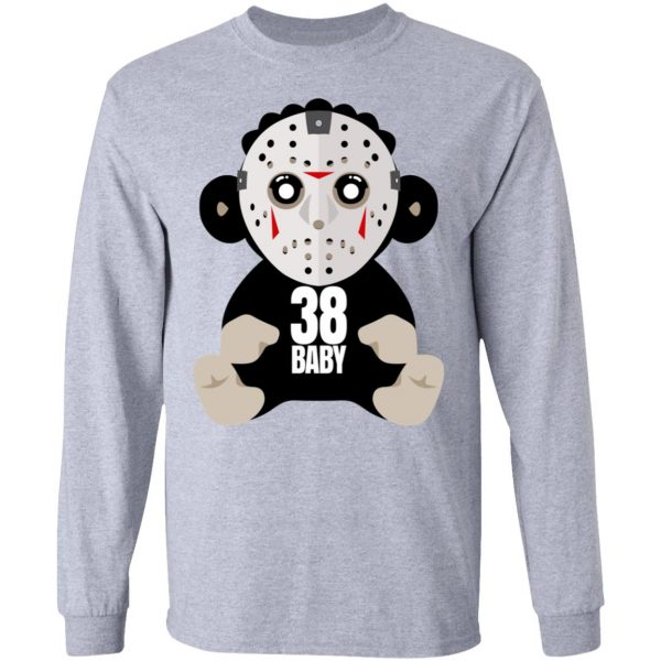 38 Baby Monkey Jason Voorhees Shirt, Hoodie, Tank Funny Quotes 9