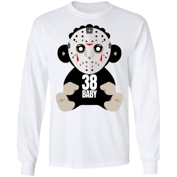 38 Baby Monkey Jason Voorhees Shirt, Hoodie, Tank Funny Quotes 10