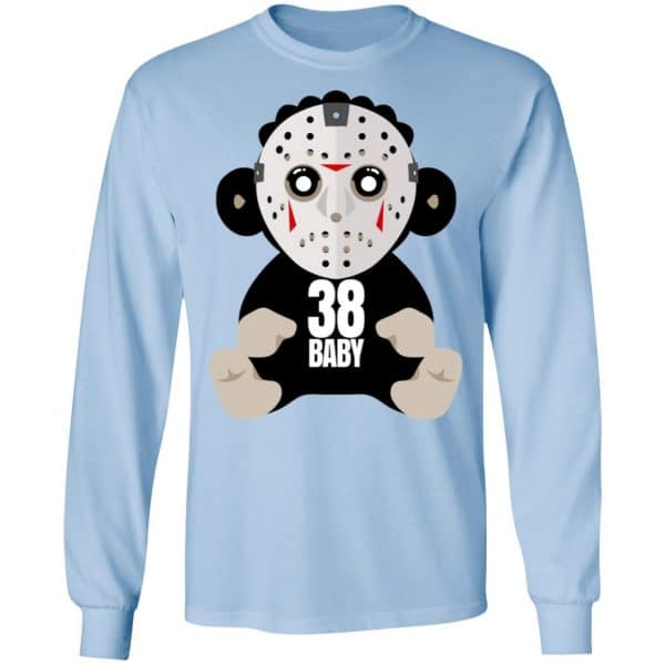 38 Baby Monkey Jason Voorhees Shirt, Hoodie, Tank Funny Quotes 11