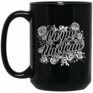 Carpe Noctem Goth Soft Grunge Boho Vampire Seize The Night Mug Coffee Mugs 2