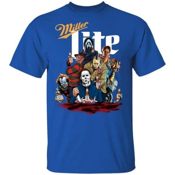Halloween Horror Characters Drink Miller Lite Shirt, Hoodie, Tank Apparel