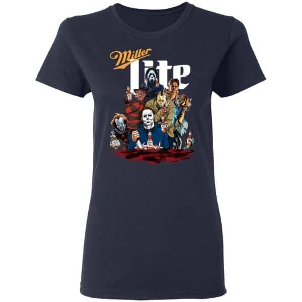 Halloween Horror Characters Drink Miller Lite Shirt, Hoodie, Tank
