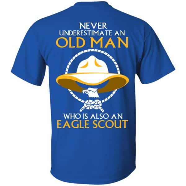 Never Underestimate An Old Man Who Is Also An Eagle Scout Shirt, Hoodie, Tank – Back Apparel 6