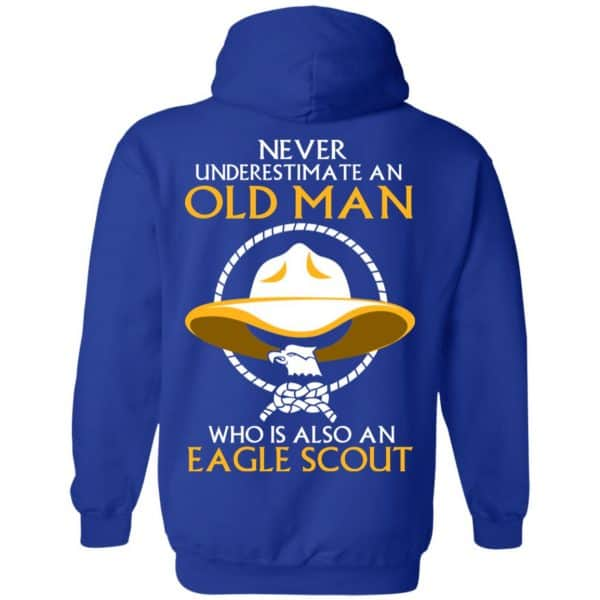 Never Underestimate An Old Man Who Is Also An Eagle Scout Shirt, Hoodie, Tank – Back Apparel 12