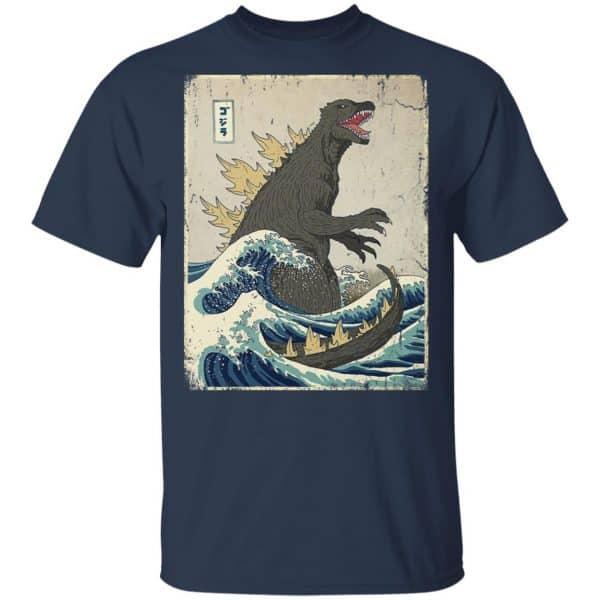 The Great Godzilla Off Kanagawa Shirt, Hoodie, Tank