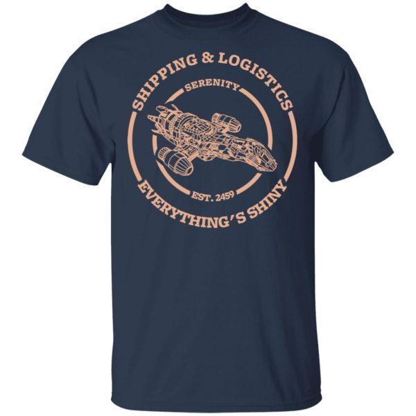 Serenity Shipping And Logistics Shirt, Hoodie, Tank