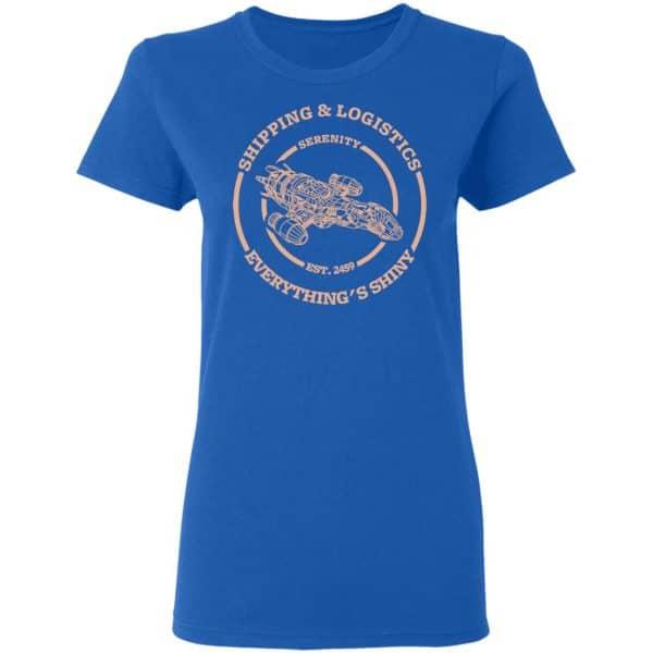 Serenity Shipping And Logistics Shirt, Hoodie, Tank Apparel