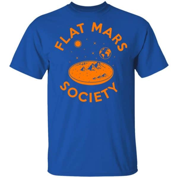 Flat Mars Society Shirt, Hoodie, Tank