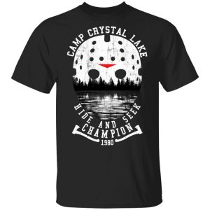 Camp Crystal Lake Hide And Seek Champion 1980 Shirt, Hoodie, Tank