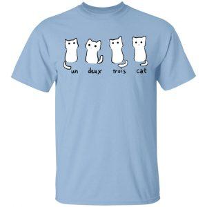 Un Deux Trois Cat Shirt, Hoodie, Tank