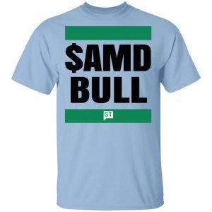 $AMD Bull Shirt, Hoodie, Tank Apparel