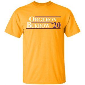 Orgeron Burrow 2020 Shirt, Hoodie, Tank