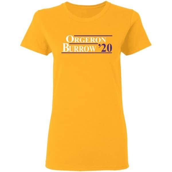 Orgeron Burrow 2020 Shirt, Hoodie, Tank Apparel