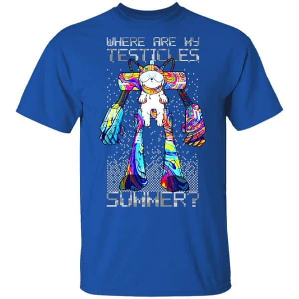 Rick And Morty: Where Are My Testicles Summer Shirt, Hoodie, Tank