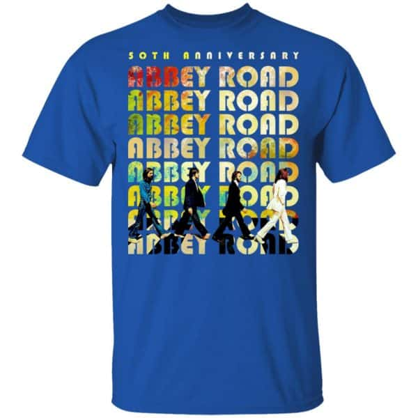 Abbey Road 50th Anniversary The Beatles Shirt, Hoodie, Tank Apparel