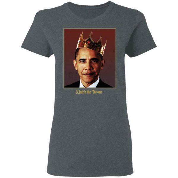 Barack Obama Watch the Throne Shirt, Hoodie, Tank