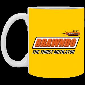 BRAWNDO The Thirst Mutilator Mugs Coffee Mugs