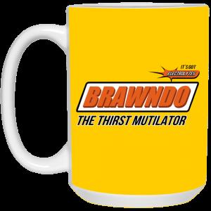 BRAWNDO The Thirst Mutilator Mugs Coffee Mugs 2