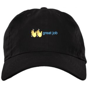 Great Job Polo Black Hat Hat