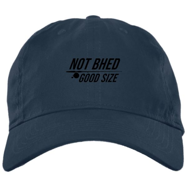 Not Bhed Good Size White Hat Hat 4