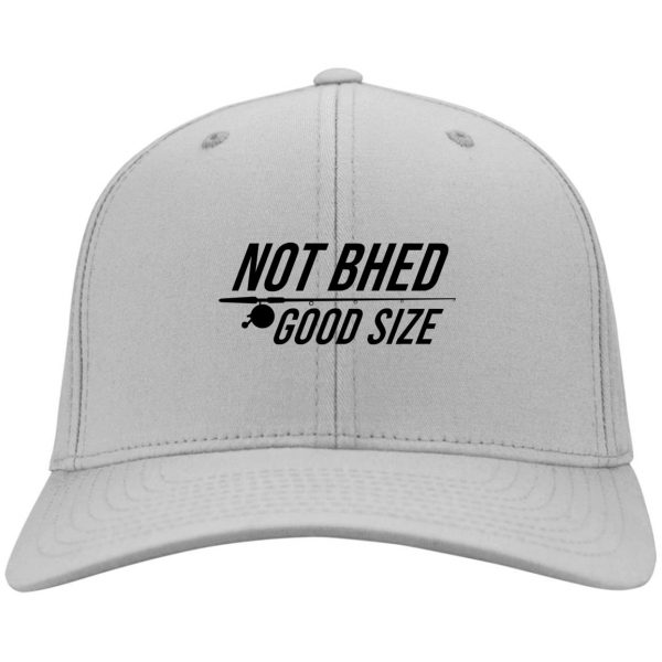 Not Bhed Good Size White Hat Hat 5