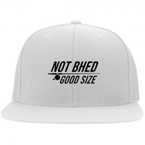 Not Bhed Good Size White Hat Hat