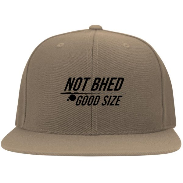 Not Bhed Good Size White Hat Hat 7