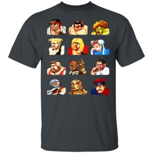 Street Fighter 2 Continue Faces Shirt, Hoodie, Tank Apparel 2