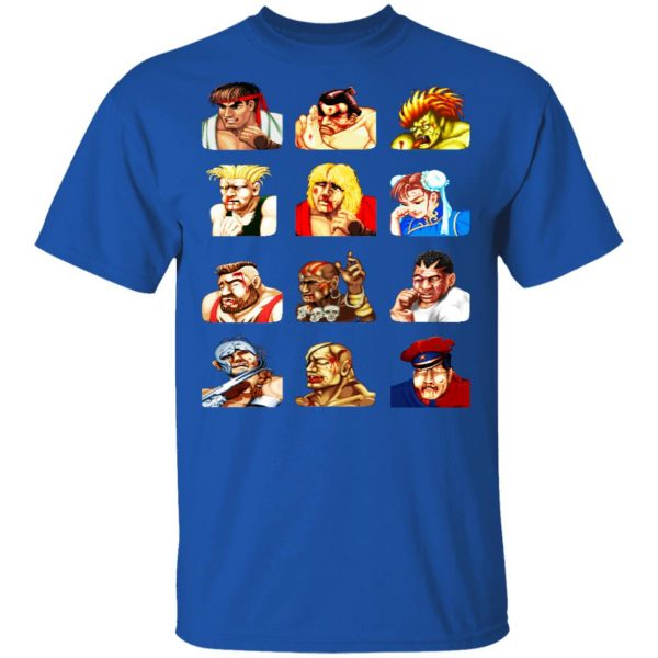 Street Fighter 2 Continue Faces Shirt, Hoodie, Tank Apparel 6