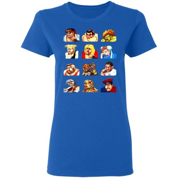 Street Fighter 2 Continue Faces Shirt, Hoodie, Tank Apparel 10