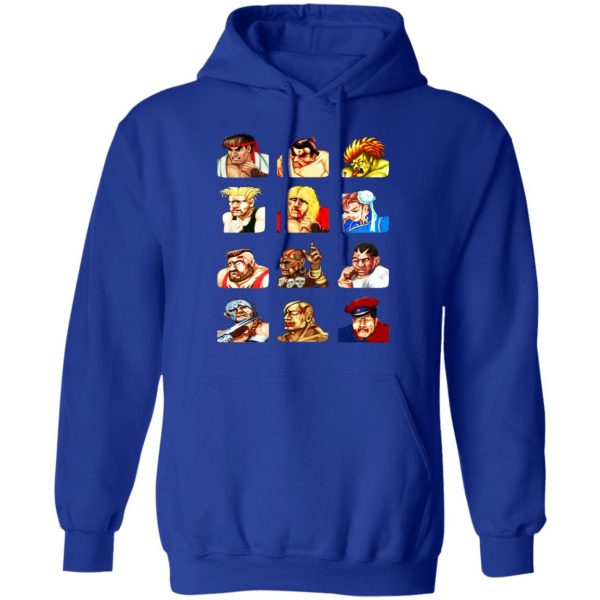 Street Fighter 2 Continue Faces Shirt, Hoodie, Tank Apparel 14