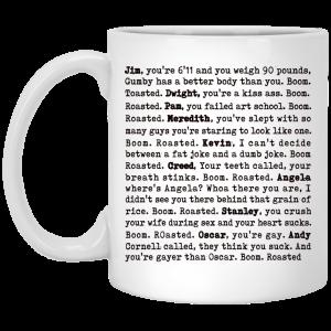 The Office Boom Roasted – Boom Roasted Legendary Michael'S Roasting Mug Coffee Mugs