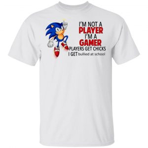 I'm Not Player I'm A Gamer Players Get Chicks I Get Bullied At School Shirt, Hoodie, Tank Apparel 2