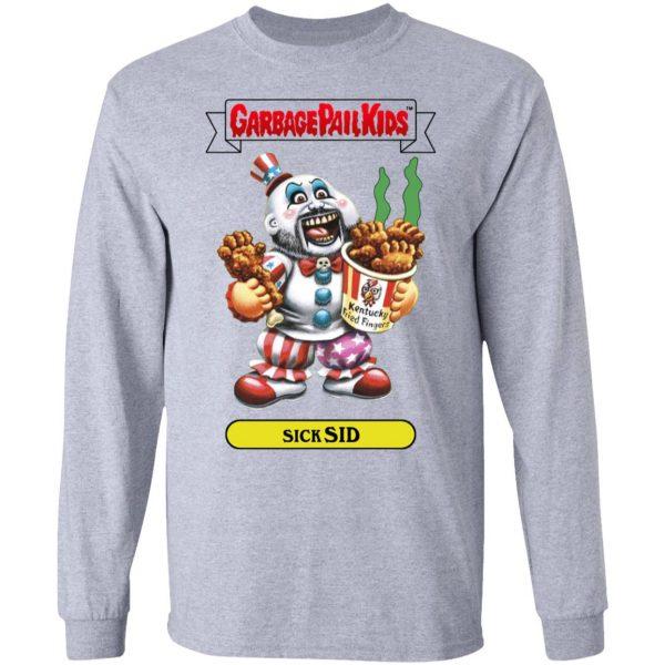Garbage Pail Kids Sick Sid Captain Spaulding Version Shirt, Hoodie, Tank