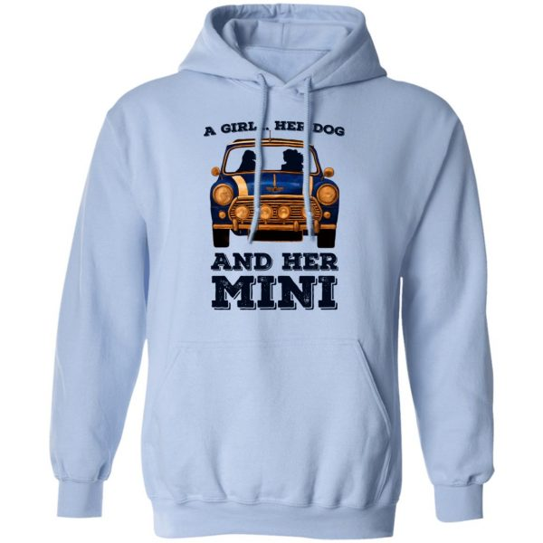 A Girl Her Dog And Her Mini Shirt, Hoodie, Tank