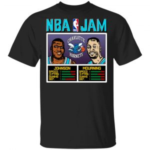 NBA Jam Hornets Johnson And Mourning Shirt, Hoodie, Tank