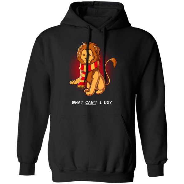 Harry Potter Gryffindor What Can't I Do Shirt, Hoodie, Tank